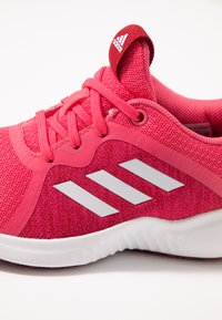 adidas Performance - FORTARUN X - Chaussures de running neutres - real pink/footwear white/active maroon - 2