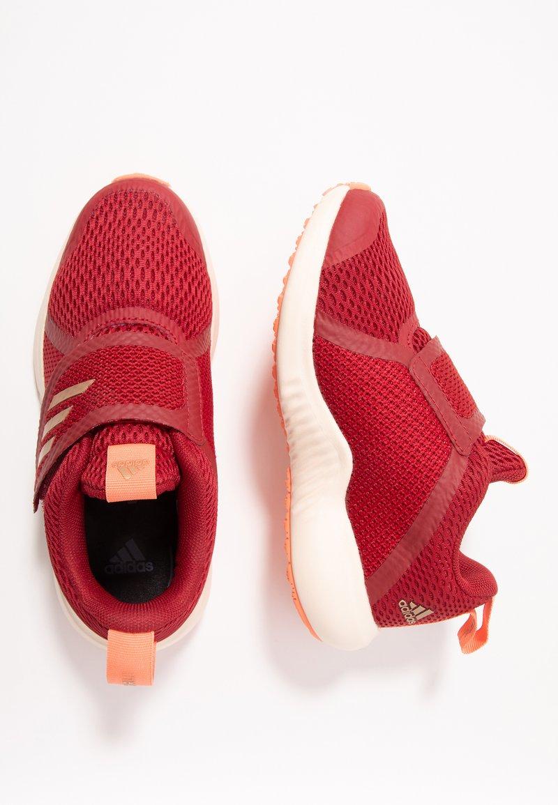 adidas Performance - FORTARUN X CF - Obuwie do biegania treningowe - active maroon/copper metallic