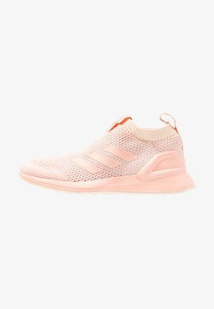 RAPIDARUN LL KNIT - Neutral running shoes - ecru tint/glow pink