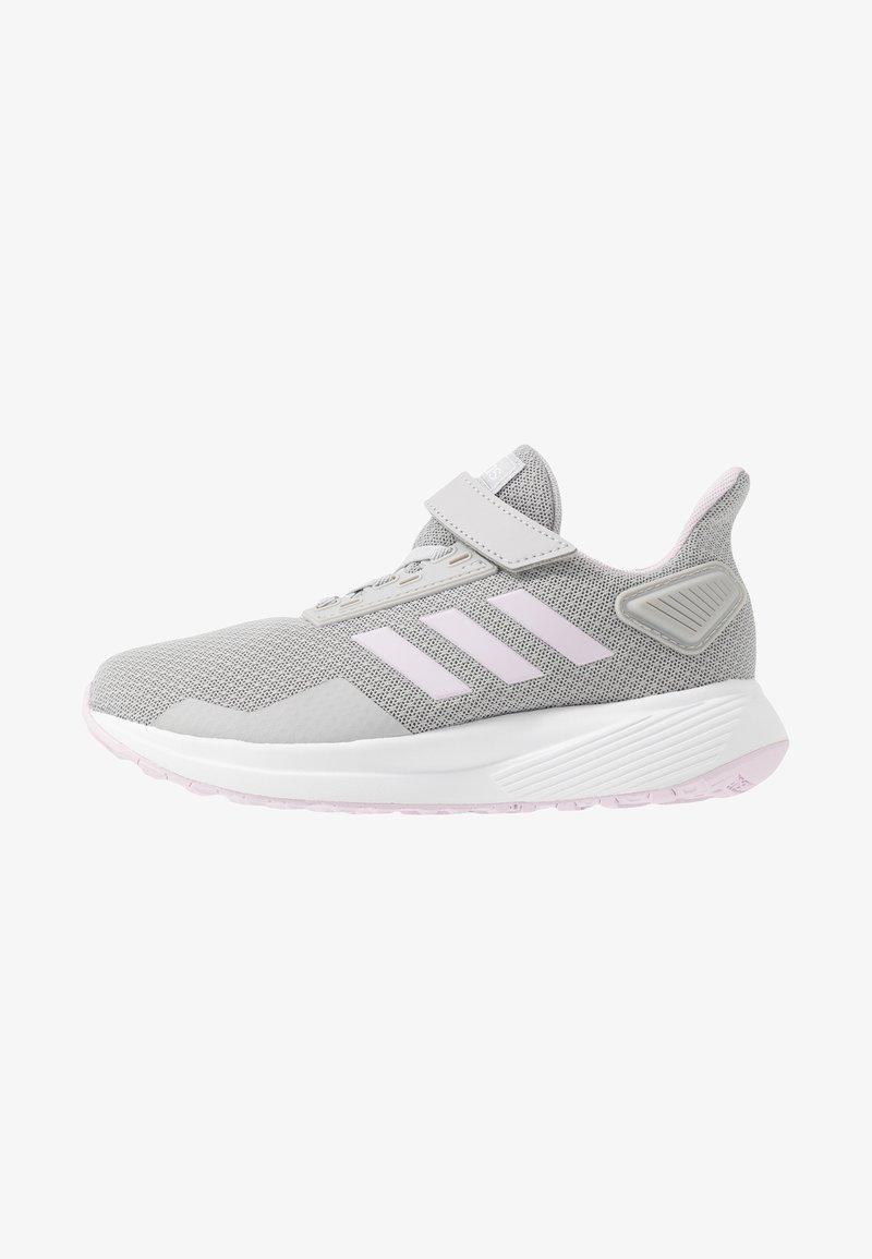 adidas Performance - DURAMO 9 - Laufschuh Neutral - grey two/aero pink/footwear white