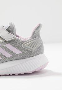 adidas Performance - DURAMO 9 - Scarpe running neutre - grey two/aero pink/footwear white - 5
