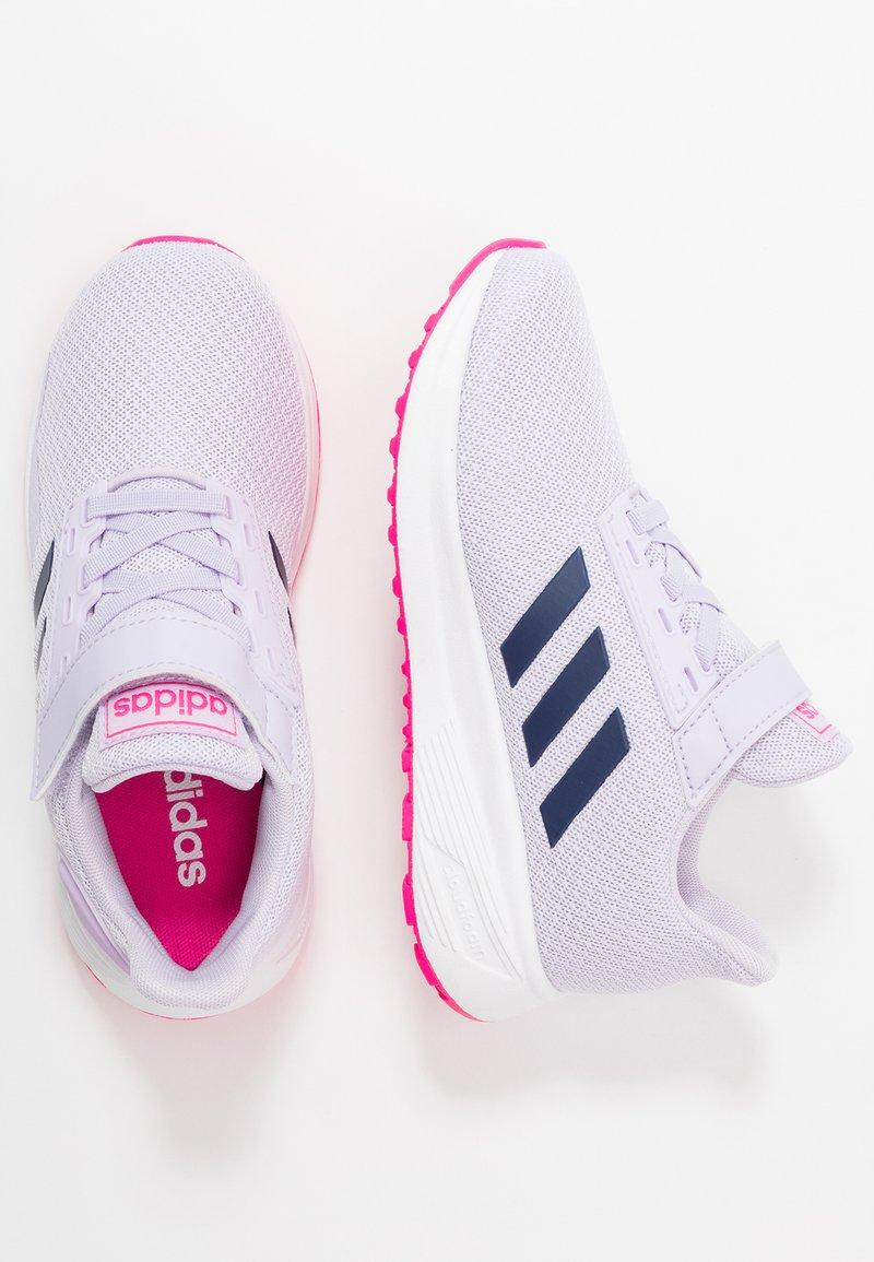 adidas Performance - DURAMO 9 - Obuwie do biegania treningowe - purple tint/tech indigo/shock pink