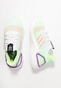 adidas Performance - ULTRABOOST 19 - Hardloopschoenen neutraal - footwear white/solar red/solar yellow - 1