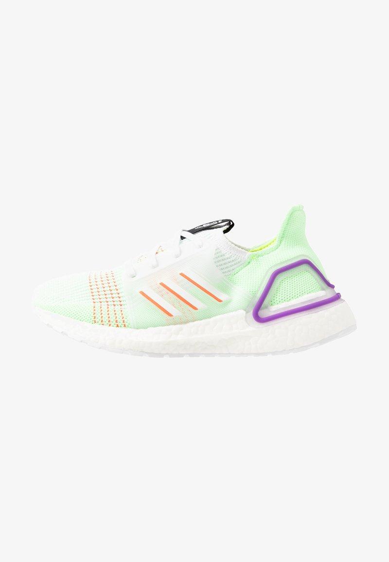 adidas Performance - ULTRABOOST 19 - Hardloopschoenen neutraal - footwear white/solar red/solar yellow