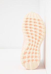 adidas Performance - RAPIDARUN LL KNIT - Neutral running shoes - ecru tint/glow pink - 4
