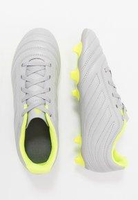 adidas Performance - COPA 20.4 FG  - Voetbalschoenen met kunststof noppen - grey two/matte silver/solar yellow - 0
