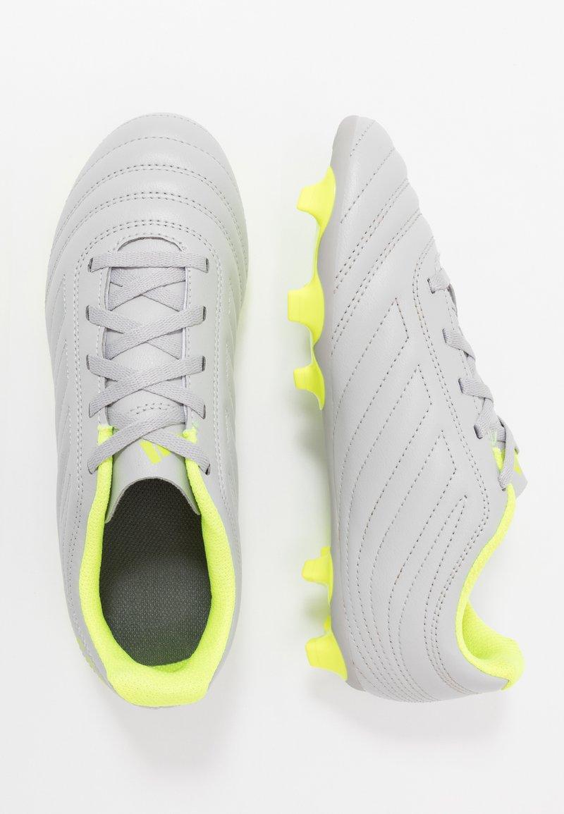 adidas Performance - COPA 20.4 FG  - Voetbalschoenen met kunststof noppen - grey two/matte silver/solar yellow
