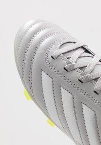 adidas Performance - COPA 20.4 FG  - Voetbalschoenen met kunststof noppen - grey two/matte silver/solar yellow - 2