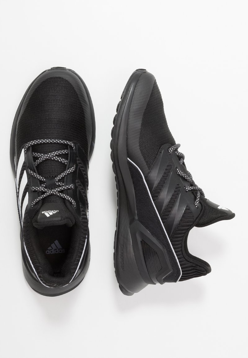 adidas Performance - RAPIDARUN - Chaussures de running neutres - core black/footwear white
