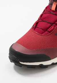adidas Performance - TERREX WINTER MID BOA - Stivali da neve  - active maroon/core black/semi coral - 2