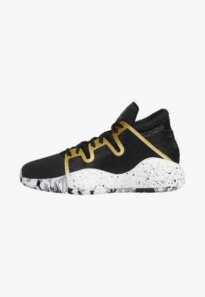PRO VISION SHOES - Basketbalschoenen - black/white/gold