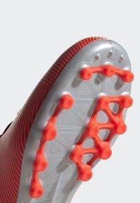 adidas Performance - NEMEZIZ 19.3 ARTIFICIAL GRASS BOOTS - Halówki - red - 5