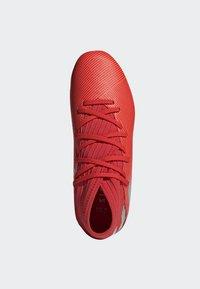 adidas Performance - NEMEZIZ 19.3 ARTIFICIAL GRASS BOOTS - Halówki - red - 1