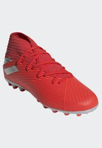 adidas Performance - NEMEZIZ 19.3 ARTIFICIAL GRASS BOOTS - Halówki - red - 2