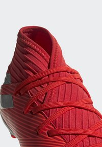 adidas Performance - NEMEZIZ 19.3 ARTIFICIAL GRASS BOOTS - Halówki - red - 6