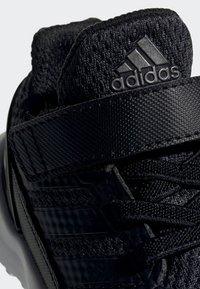 adidas Performance - RAPIDARUN SHOES - Hardloopschoenen neutraal - black - 6