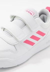 adidas Performance - TENSAUR UNISEX - Zapatillas de running neutras - footwear white/real pink - 2