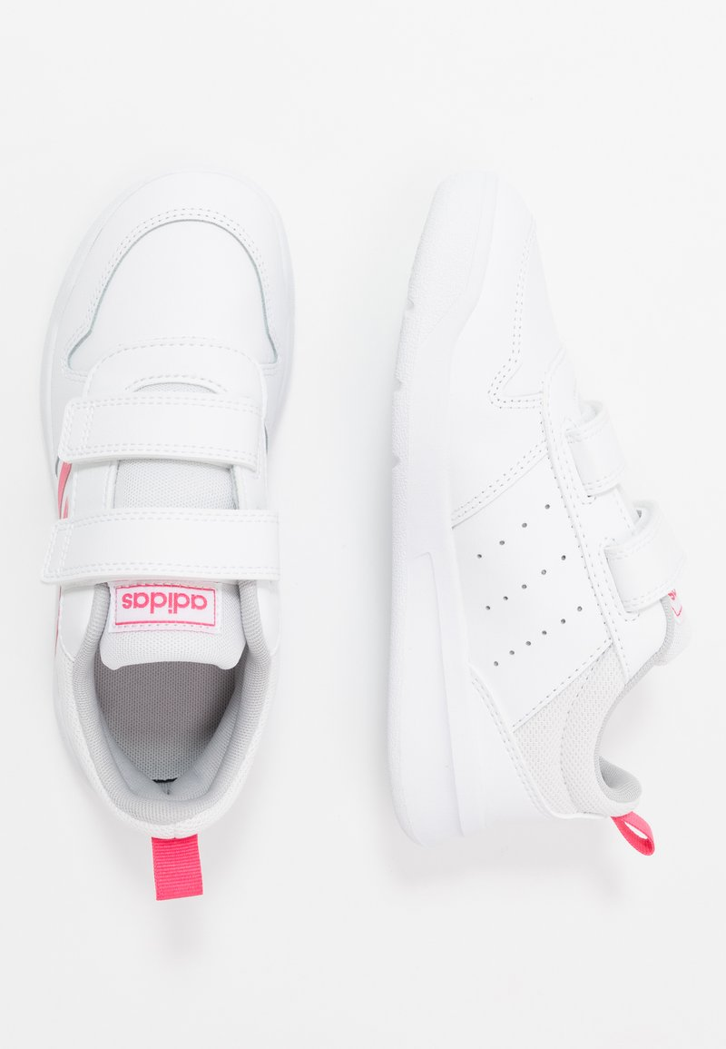 adidas Performance - TENSAUR UNISEX - Zapatillas de running neutras - footwear white/real pink