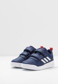 adidas Performance - TENSAUR VECTOR CLASSIC RUNNING SHOES - Neutrální běžecké boty - dark blue/footwear white/active red - 3