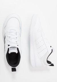 adidas Performance - TENSAUR - Scarpe da fitness - footwear white/core black - 0