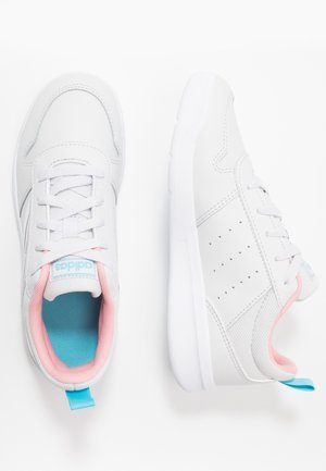 TENSAUR - Treningssko - dash grey/footwear white/glow pink
