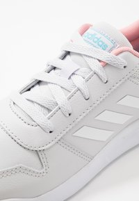adidas Performance - TENSAUR VECTOR CLASSIC SPORTS SHOES - Obuwie treningowe - dash grey/footwear white/glow pink - 2