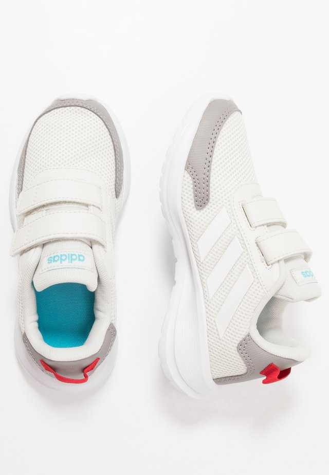 TENSAUR RUN - Obuwie do biegania treningowe - orbit grey/footwear white/grey
