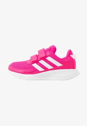 TENSAUR RUN - Neutral running shoes - shock pink/footwear white/shock red