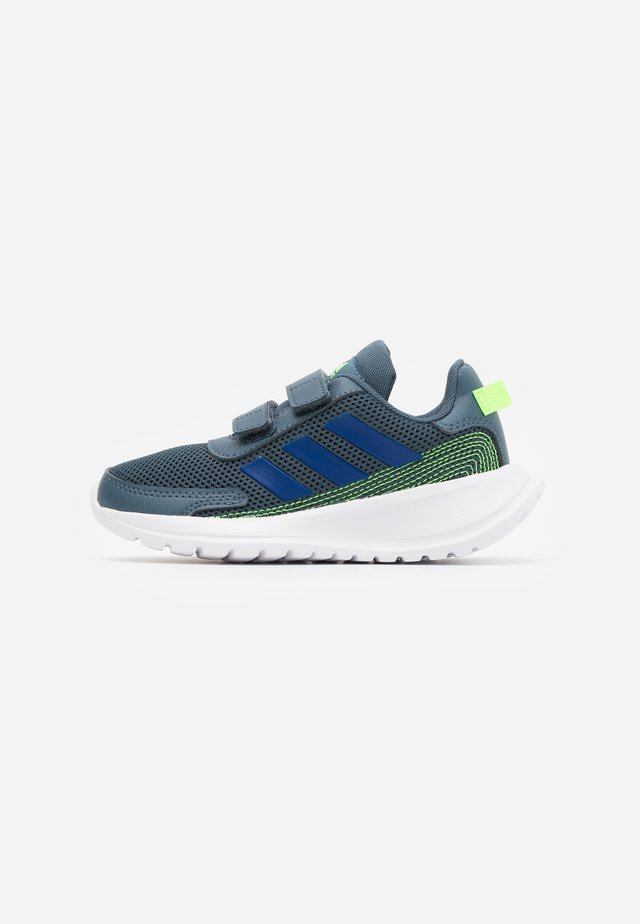 TENSAUR RUN - Neutral running shoes - legend blue/royal blue/signal green