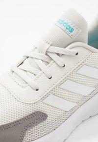 adidas Performance - TENSAUR RUN - Neutral running shoes - orbit grey/footwear white/grey - 5
