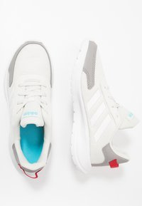 adidas Performance - TENSAUR RUN - Neutral running shoes - orbit grey/footwear white/grey - 1