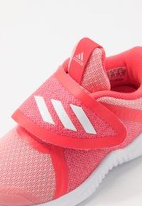 adidas Performance - FORTARUN X - Hardloopschoenen neutraal - glow pink/footwear white/shock red - 2