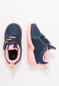 adidas Performance - FORTARUN X - Zapatillas de running neutras - tech indigo/copper metallic/glow pink - 0