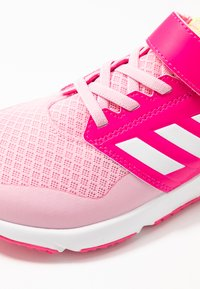 adidas Performance - FORTAFAITO - Neutral running shoes - true pink/footwear white/shock pink - 2