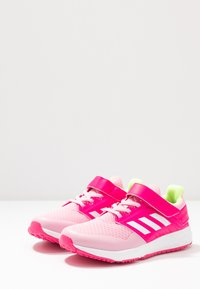 adidas Performance - FORTAFAITO - Neutral running shoes - true pink/footwear white/shock pink - 3