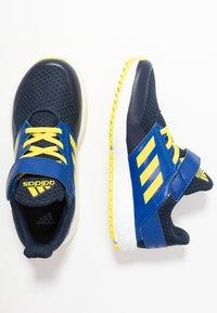 adidas Performance - FORTAFAITO - Hardloopschoenen neutraal - collegiate navy/shock yellow/collegiate royal - 0