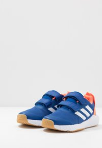 adidas Performance - FORTAGYM RUNNING SHOES - Neutral running shoes - collegiate royal/footwear white/solar orange - 3