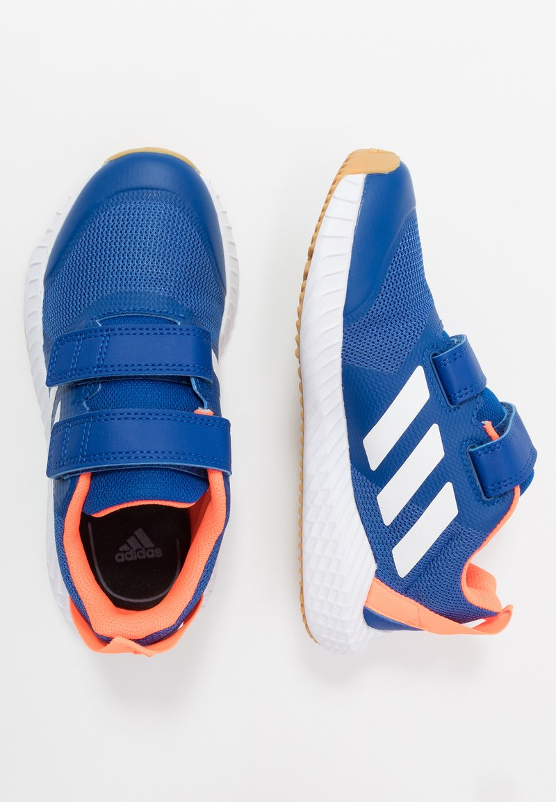adidas Performance - FORTAGYM RUNNING SHOES - Neutral running shoes - collegiate royal/footwear white/solar orange