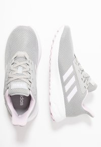 adidas Performance - DURAMO 9 - Neutrale løbesko - grey two/aero pink/footwear white - 0
