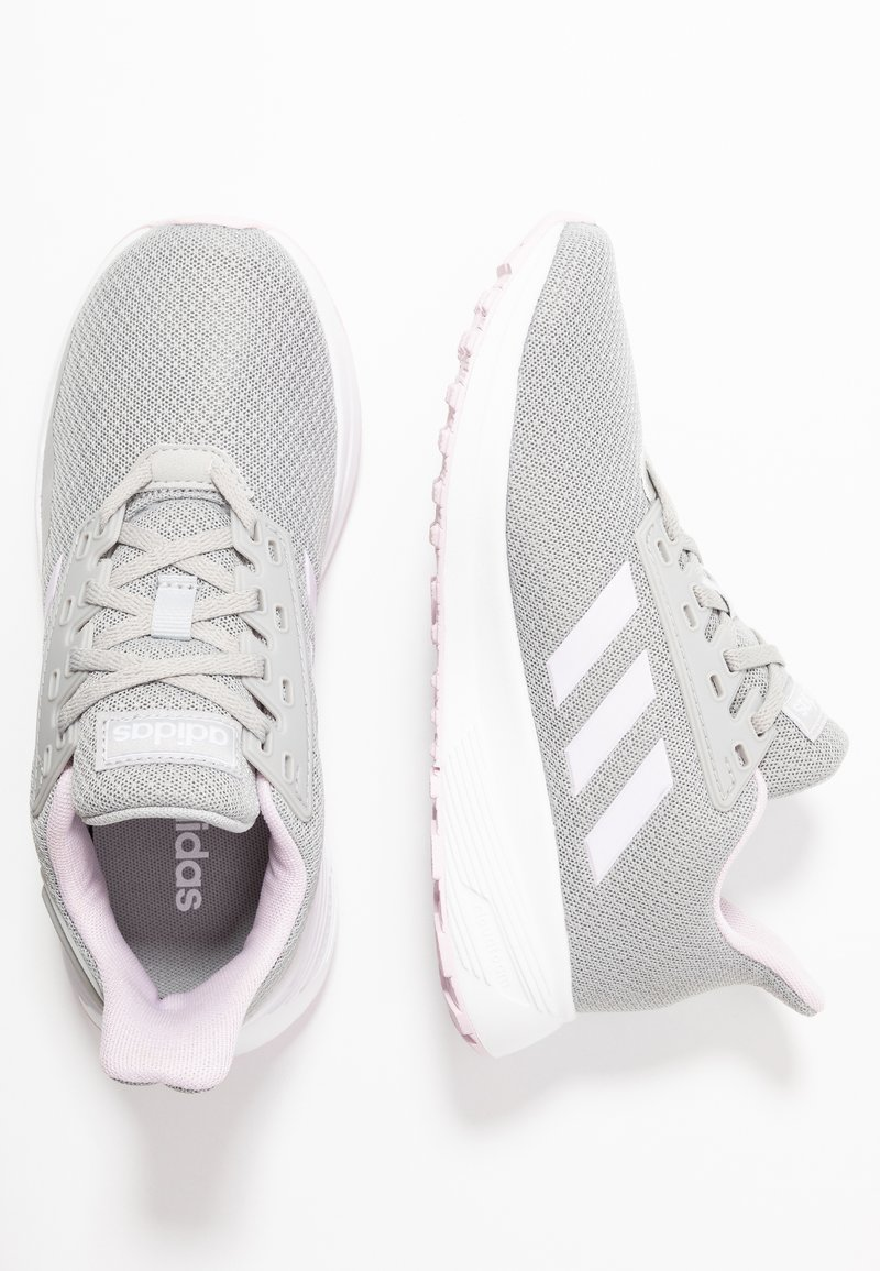 adidas Performance - DURAMO 9 - Scarpe running neutre - grey two/aero pink/footwear white