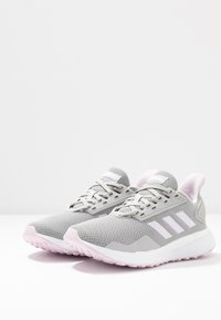adidas Performance - DURAMO 9 - Neutrale løbesko - grey two/aero pink/footwear white
