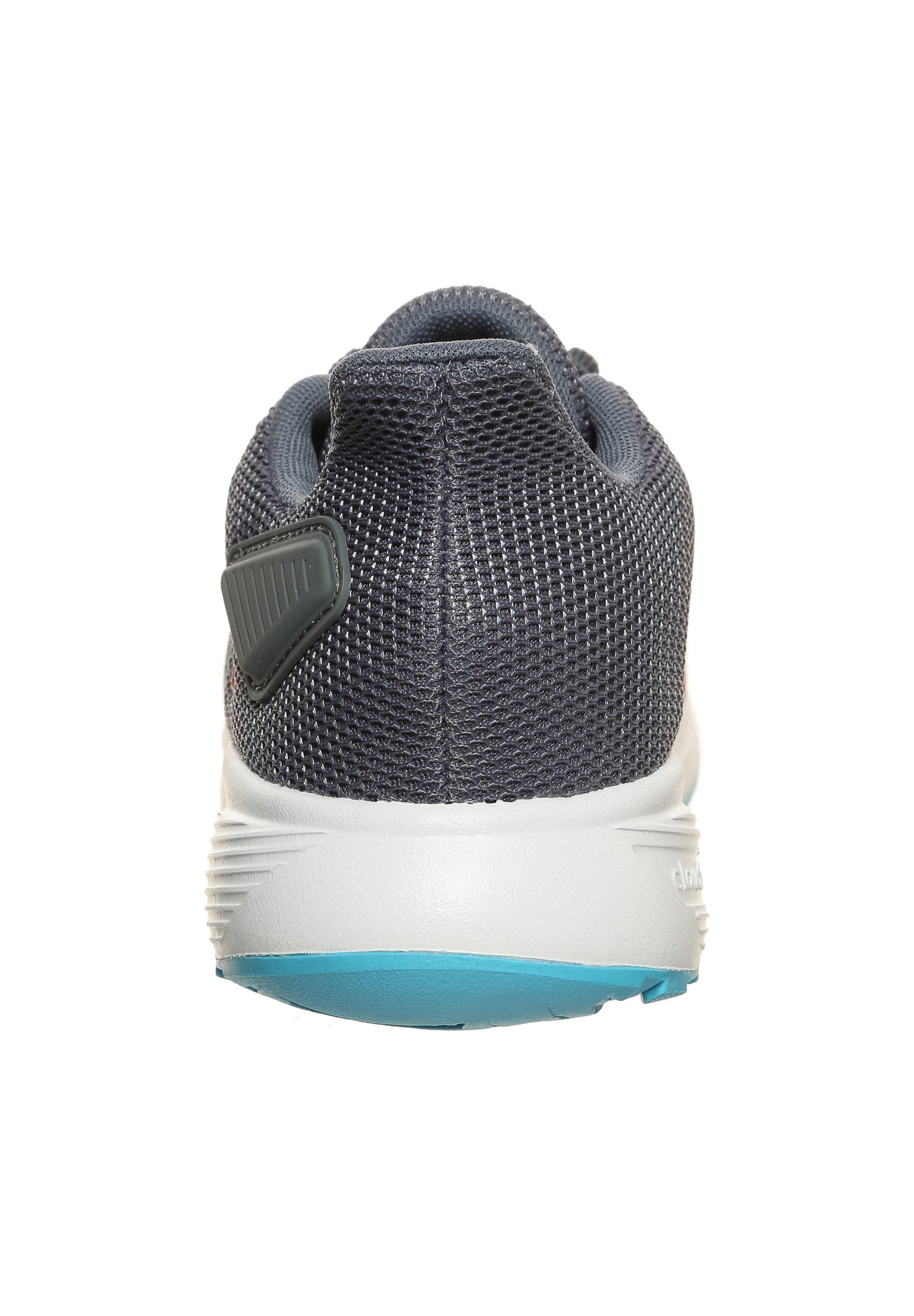 adidas Performance DURAMO 9 - Obuwie do biegania treningowe - onix/scarle/bright cyan