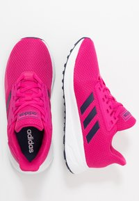 adidas Performance - DURAMO 9 - Chaussures de running neutres - real magenta/dark blue/footwear white - 0