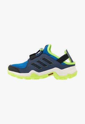 TERREX HYDROTERRA - Hiking shoes - glow blue/core black/singnal green