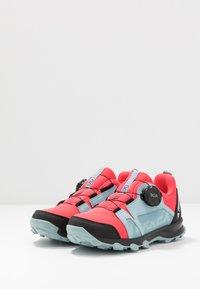 adidas Performance - TERREX AGRAVIC BOA - Outdoorschoenen - shock pink/footwear white/ash grey - 3
