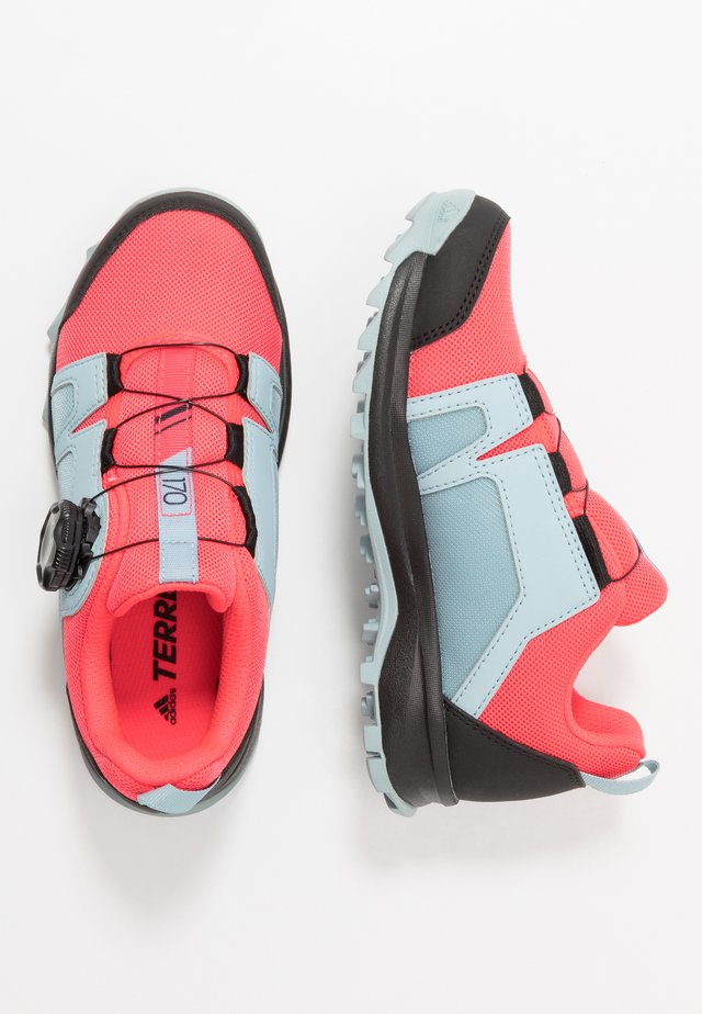 TERREX AGRAVIC BOA - Hiking shoes - shock pink/footwear white/ash grey