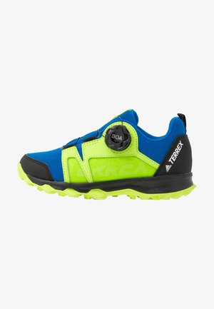 TERREX AGRAVIC BOA - Outdoorschoenen - glow blue/footwear white/signal green