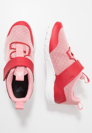 RAPIDAFLEX - Neutral running shoes - glow red/glow pink/footwear white
