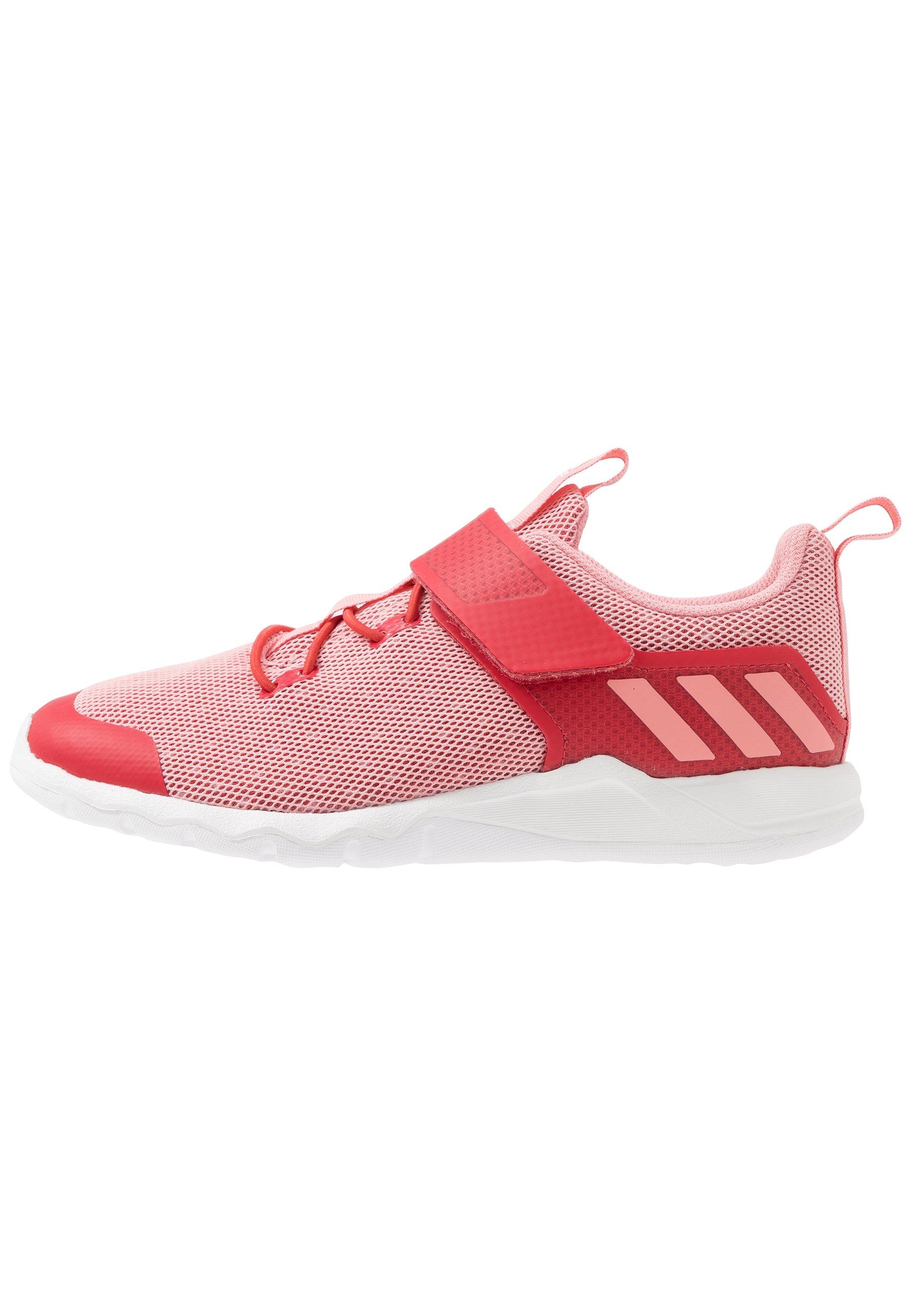 adidas Performance RAPIDAFLEX - Obuwie do biegania treningowe - glow red/glow pink/footwear white