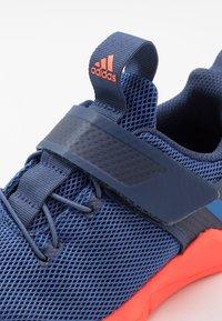adidas Performance - RAPIDAFLEX - Obuwie do biegania treningowe - tech indigo/glow blue/solar red - 2
